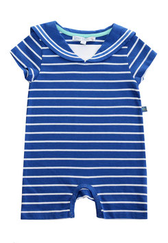 Marine Overall in royal blue-white, Artikelnr. 181 29 02