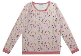 Sweatshirt Mama Blumendruck in light rose Artikelnr. 197 55 01