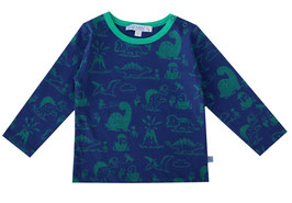 Baby Shirt Dinodruck in night/smaragd, Artikelnr. 188 41 02