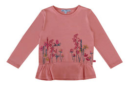 Tunika mit Blumenwiese in soft rose, Artikelnr. 197 03 01