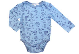 Baby Body Monsterdruck in sky-jeans