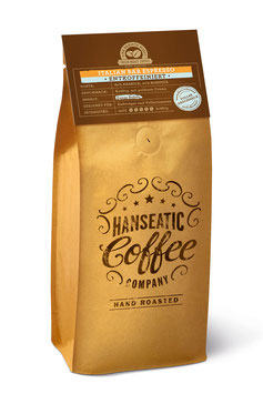 Hanseatic Coffee Italian Bar Espresso  DECAF