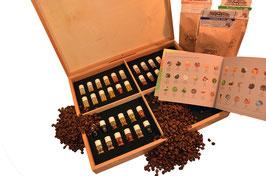 Kaffee Aromabar - die optimale Riechschule für Ihr Nasentraining - nur wer gut riechen kann - kann auch gut schmecken!