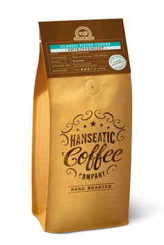 NEU NEU NEU Hanseatic Coffee - Classic Filter Coffee ENTKOFFEINIERT