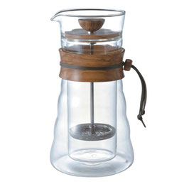 Double Wall Coffee Press (Olive wood)