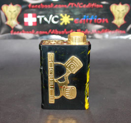 UDG V halfskull Full mechanical Series box mod dual18650/ONLY SERIES