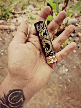Hand Engraved IGUANA V2 18650 Tube By Gatub Crafts Philippines