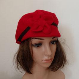FB14 Casquette béret rouge