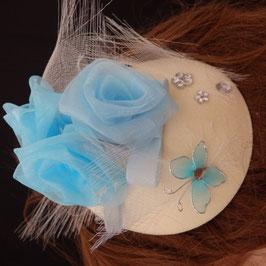 Bibi goutte fleurs bleues