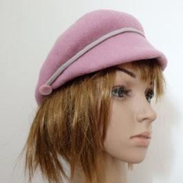 FB11 Casquette en laine rose