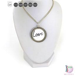 LOVE - Collier Cabochon