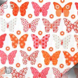 Serviettes Papillons