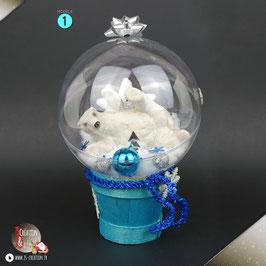 Globe de Noël ❄ Déco de noël