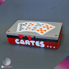 Cartes grises - Boite à cartes