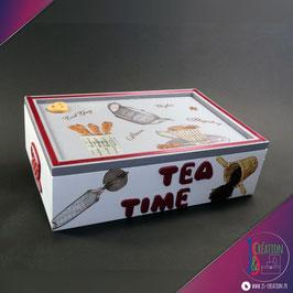 Tea Time - Boite à thé