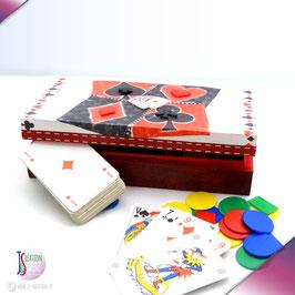 Quatre couleurs - Boite à cartes