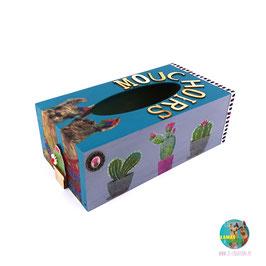 Lamas & Cactus - Boite à mouchoirs