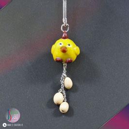 Porte-clés L'œuf ou la Poule
