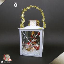 Lanterne de Noël ❄ Décoration de noël
