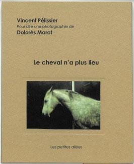 Le cheval n'a plus lieu, texte de Vincent Pélissier sur une photographie de Dolorès Marat