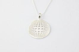 Silberkette mit Mandala