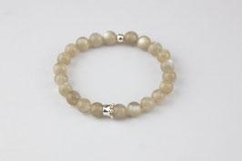 Mondstein - Armband mit kleiner Silberkrone