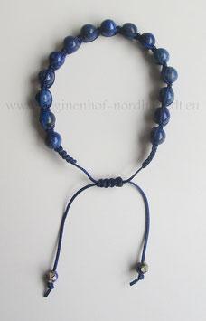 Shamballa-Armband aus Lapis Lazuli