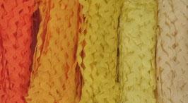 """Zackenlitze 5mm Paket """"Yellow"""""""