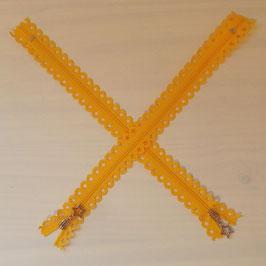 """Reißverschluss """"Sterne"""" sunflower (gelb)"""