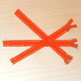 """Reißverschluss """"Sterne"""" orange"""