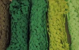 """Zackenlitze 5mm Paket """"Green"""""""