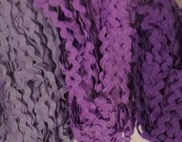 "Zackenlitze 5mm Paket ""Purple"""