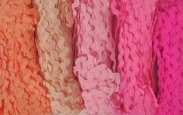 "Zackenlitze 5mm Paket ""Pink"""