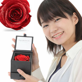 誕生日プレゼント バラ プロポーズ ジュエリーボックス 枯れないバラ リングピロー 誕生日プレゼント 美女と野獣 バラ 送料無料 プリザーブドフラワー ダイヤモンドローズ 鍵渡し