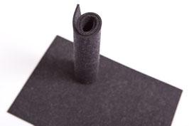 Wollfilzplatte 20 x 30 cm , 3mm , Dunkelgrau, Farbe Nr. 4