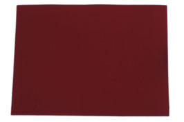 Tischset 33 x 45 cm, rot