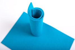 Wollfilzplatte 33 x 45 cm , 3mm hellblau, Farbe Nr. 17