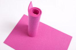 Wollfilzplatte 20 x 30 cm , 3mm  , pink  Farbe Nr.10