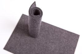 Wollfilzplatte 33 x 45 cm , 3mm , grau, Farbe Nr. 3