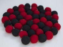 Mix schwarz/rot 50 Stck