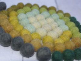 100 Filzkugeln 1 cm, Oster -Mix