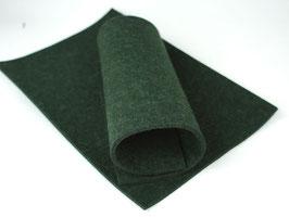 Wollfilzplatte 33 x 45 cm , 3mm , Grün, Farbe Nr. 7