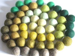 Mix grün 50 Stck