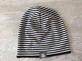 Beanie Black Stripes