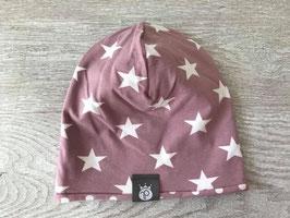 Beanie Light Purple Stars
