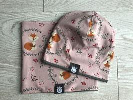 Beanie or Hat Fox Pink