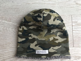 Winterbeanie Camouflage Green