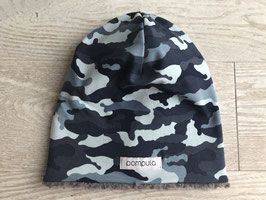 Winterbeanie Camouflage Blue