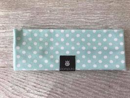 Headband Mint Dots