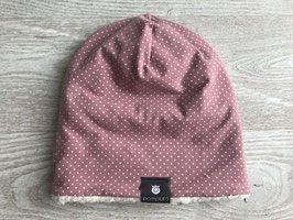 Winterbeanie Dots